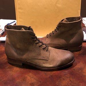 Frye women's ankle boots sz 9 tan leather